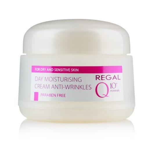 Дневен овлажняващ крем Regal Q10+ за суха и чувствителна кожа