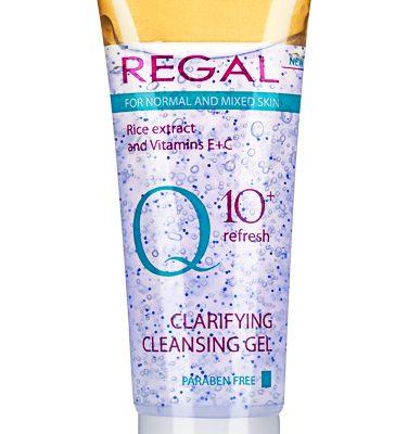 Почистващ измивен гел Regal Q10+ за нормална и смесена кожа