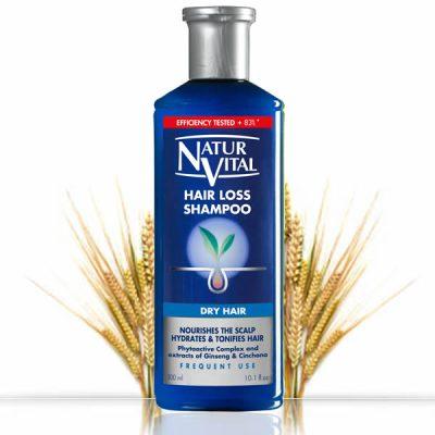 Шампоан против косопад Natur Vital за суха коса