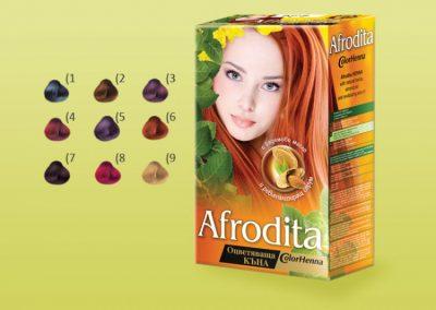 Афродита - оцветяваща къна