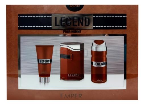 Emper комплект за мъже Legend Brown Pour 3 части