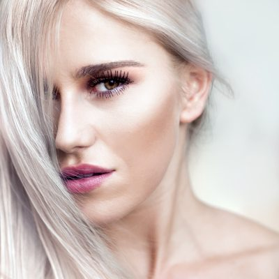 бяла козметика за лице