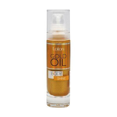 Loton Golg OIL Сухо масло за тяло със златни частици