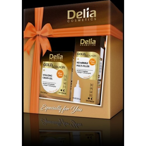 Delia Комплект Gold & Collagen