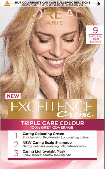 Excellence Creme L'Oreal Боя за коса № 9 Естествено Светло Рус