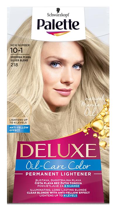 Palette Deluxe № 10-1/ 218 Сребристо рус