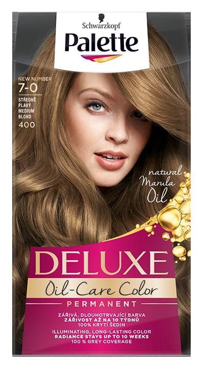 Palette Deluxe № 7-0/ 400 Средно рус