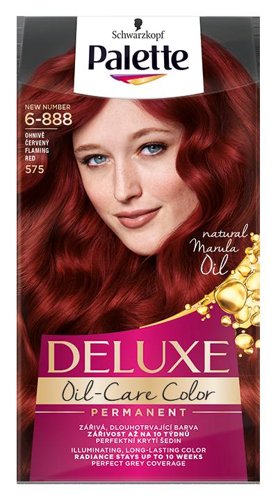 Palette Deluxe боя за коса № 6-888/ 575 Огнено червен