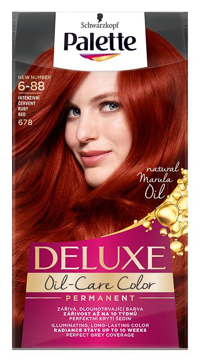 Palette Deluxe боя за коса № 6-88 / 678 Рубинено червен