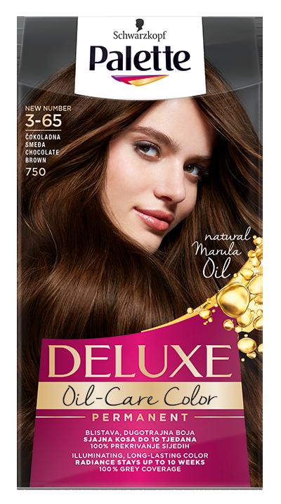 Palette Deluxe № 3-65/ 750 Шоколадово кафяв