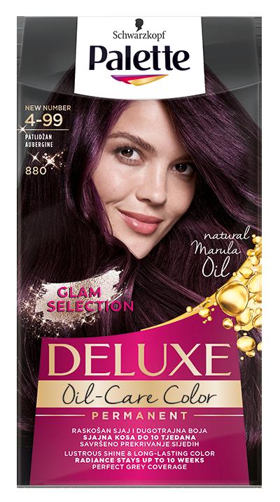Palette Deluxe боя за коса № 4-99/ 880 Патладжан
