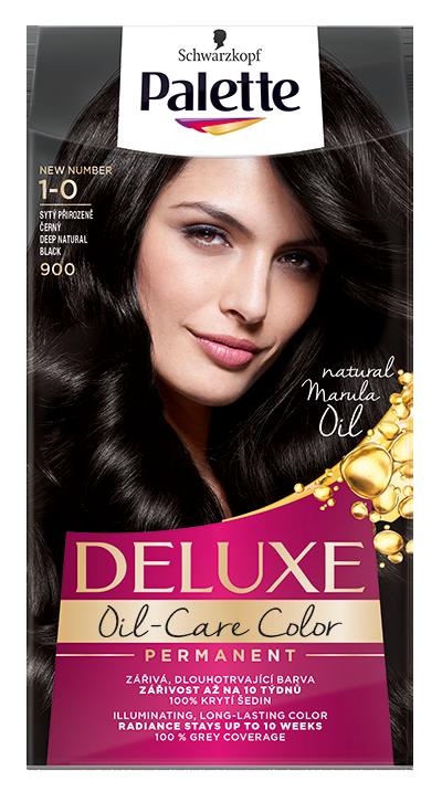 Palette Deluxe № 1-0/ 900 Тъмно натурално черен
