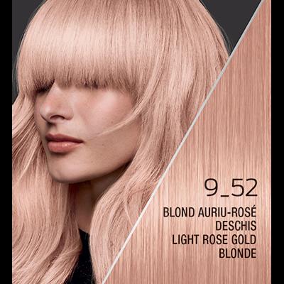 Syoss Color Classic № 9_52 Светло розово златно рус