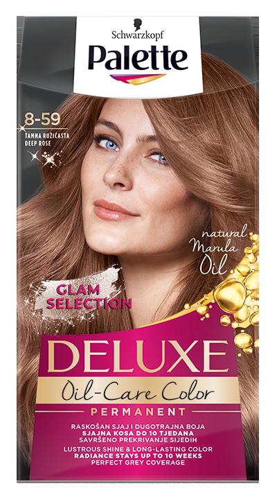 Palette Deluxe № 8-59 Тъмно розово