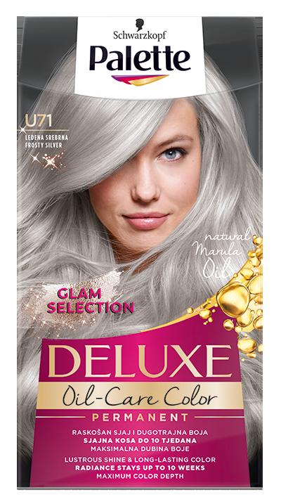 Palette Deluxe боя за коса № U71 Заскрежено сребристо