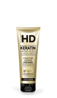 HD Keratin маска срещу накъсване 250 мл.