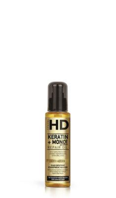 HD Keratin олио за коса с кератин и монои 100 мл.