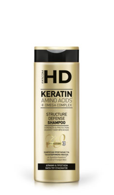 HD Keratin шампоан срещу накъсване 400 мл.