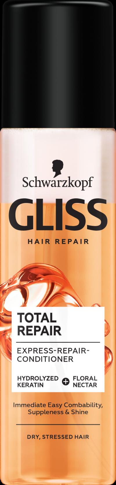 GLISS Total Repair двуфазен спрей балсам