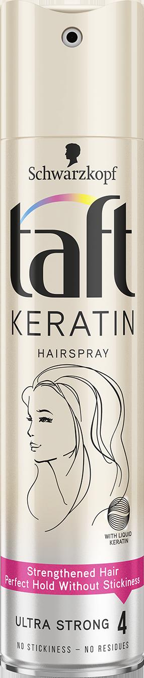 Taft Keratin лак за коса