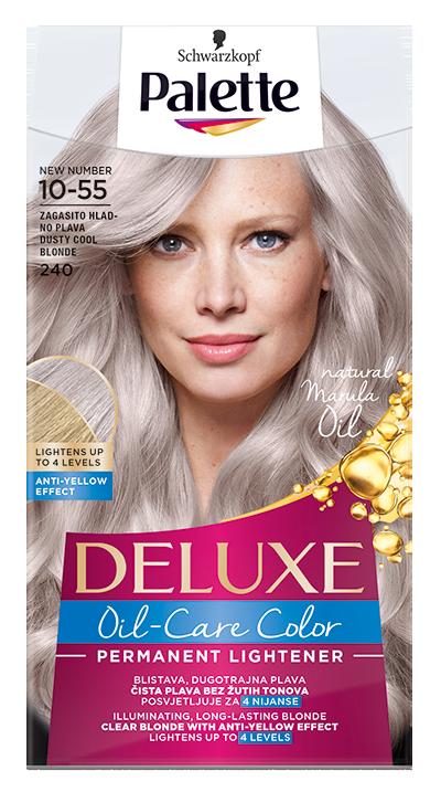 Palette Deluxe боя за коса № 10-55 пепеляво хладно русо