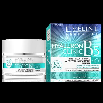 Eveline Hyaluron clinic B5 крем за лице 40+