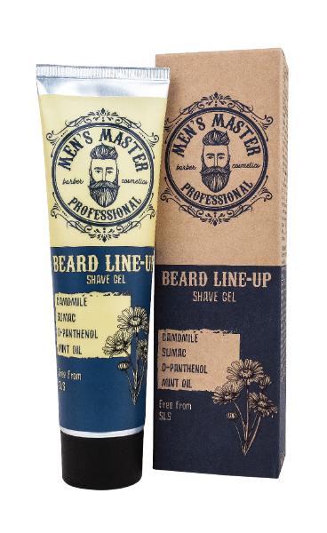 Man's Masters Гел за бръснене и оформяне линията на брада